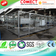 Factory making for Chicken Bleeding Unit poultry processing equipment for slaughterhouse supply to Denmark Manufacturer
