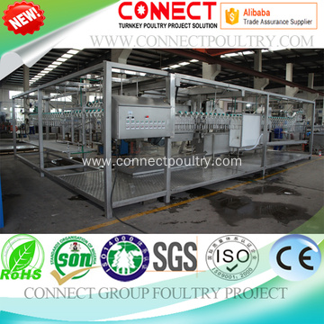 poultry processing equipment for slaughterhouse