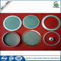 90mm 316l porous stainless steel filter disc