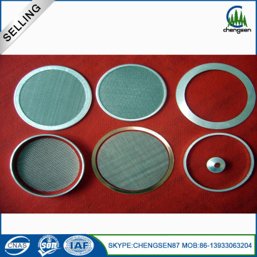 220 Micron Stainless Steel Sintered Filter Disc
