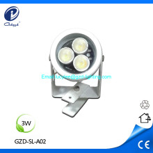 3W low power IP65 aluminum led spot light