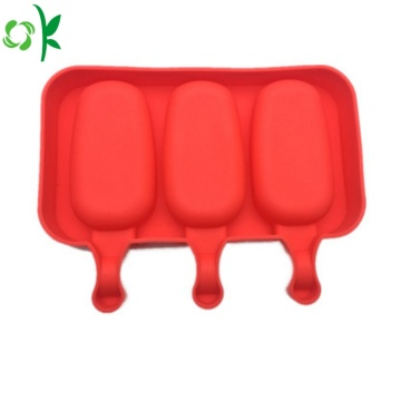 Food Grade Cute Silicone Ice-cream Mold