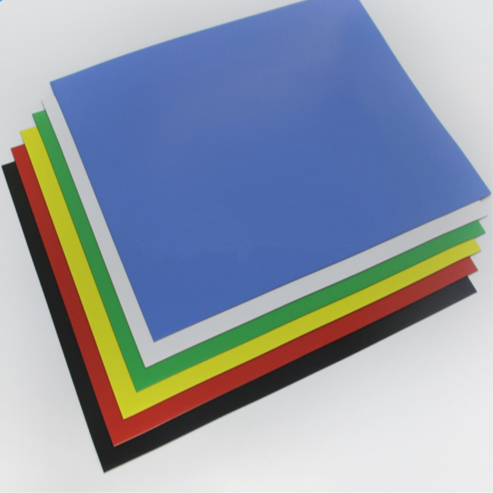 Colorful Roll Rubber Magnet with PVC