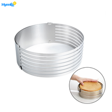Adjustable Stainless Steel Cake Ring Cake Layer Slicer