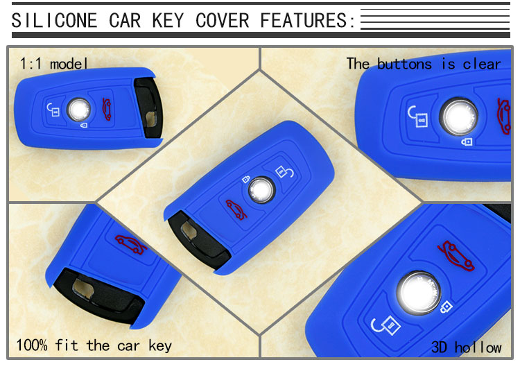 BMW silicone car key cover