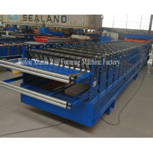 China for Glazed Double Layer Forming Machine Glazed And Trapezoidal Roof Sheet Making Machine supply to Guinea-Bissau Importers