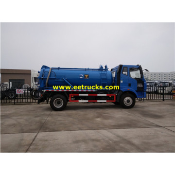 FAW 8000 Litres Excrement Tank Trucks