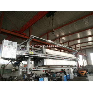 Sugar Syrup Stainless Steel Filter Press For Industrial