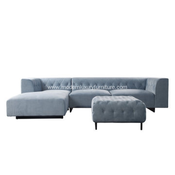 Modern Marlon Sectional Sofa for Living Room