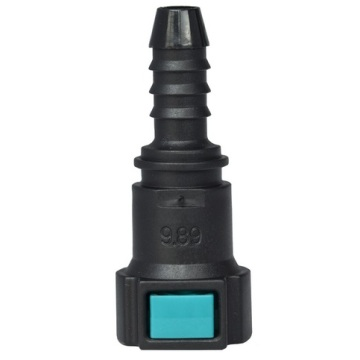 Conductive Quick Connector 9.89 (10) - ID8 - 0° SAE