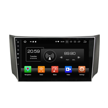car dvd video player per Sylphy 2012-2015