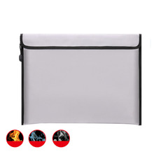 Custom Fireproof Waterproof Document and Money Holder Bag