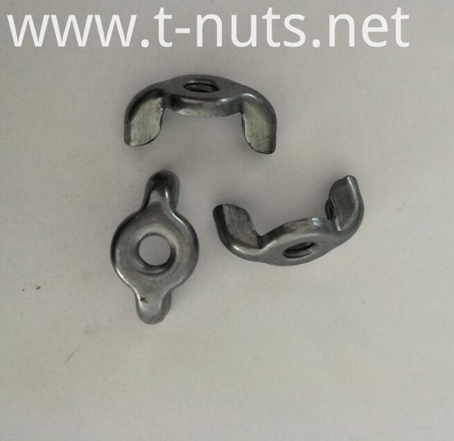 stainless steel locking wing nuts