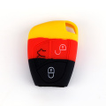 Pattern Soft Silicone Key Case for Benz