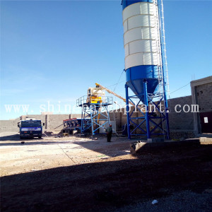 Indonesia Concrete Cement Mixing Plant For Sale
