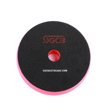SGCB red buffing pads for car polishing