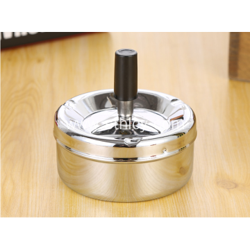Stainless Steel Creative Rotating Ashtray