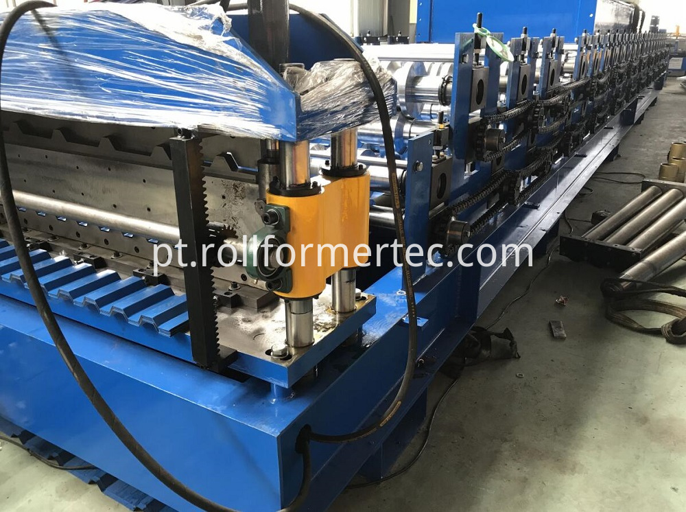 double layer roofing panel rollforming line (9)