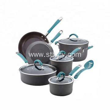 Stainless Steel Glass Ceramic Copper Cookware Set