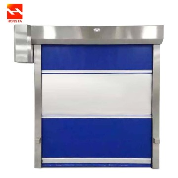 PVC Curtain Roll up High Speed Door