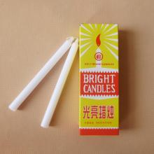 White Bright Holy Brand Candle Bougie Velas