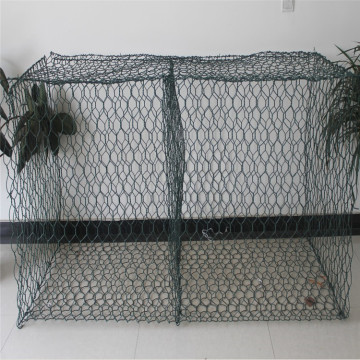 Rust proof galfan coated weaved gabion boxes
