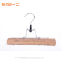 EISHO Anti theft Wooden Skirt Pant Hangers
