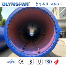 ASME standard ACC brick fabrication autoclave