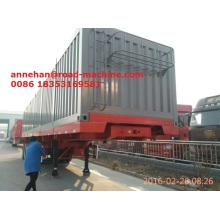 Good User Reputation for Skeleton Semi Trailer Sinotruk Cimc 40feet container Truck supply to New Caledonia Factories