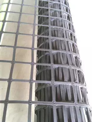 Double Welded Steel Plastic Composite Geogrid