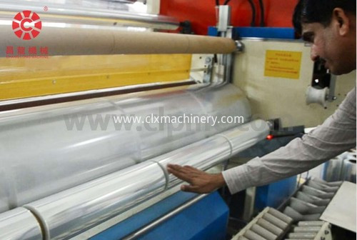 plastic extruder equipment of stretch film