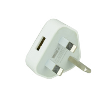 UK BS1363 wall usb charger for phone