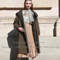 Reversible Shearling Coat For Lady
