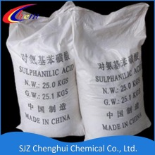 High Quality Industrial Factory for Dyes Intermediate Sulfanilic Acid for Optical Brighteners supply to United States Factories