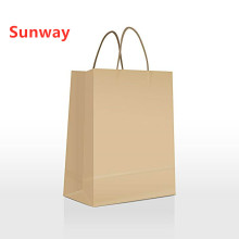 Manufacturer for Kraft Paper Shopping Bag Brown  Paper Bag With Handles export to India Supplier