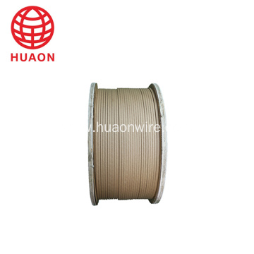 Paper Covered  Aluminum Flat Wire 3.15x10