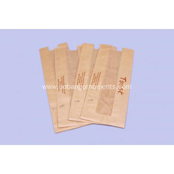 OEM for China Kraft Paper Bag,Disposable Paper Bag,Brown Paper Bag,Packing Paper Bag Supplier Brown custom kraft paper bag with PVC window supply to Puerto Rico Factory