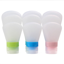 Hot Selling for for Travel Bottle Kits Squeeze Collapsible Silicone Travel Bottle export to Indonesia Factories