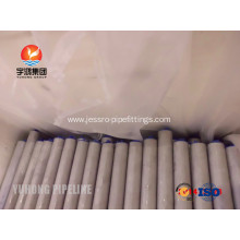 Customized for Duplex Heat Exchanger Tube ASTM A789 S31803 Seamless Duplex Steel Tube supply to Haiti Exporter