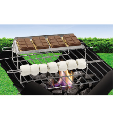 S'mores stainless steel grilling rack for marshmallow