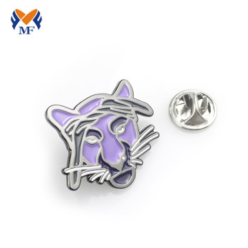 Animal custom enamel pins wholesale no minimum