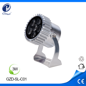 3W mini aluminum architectural outdoor IP65 led spotlights