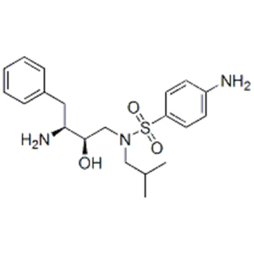 Benzolsulfonamid, 4-Amino-N - [(2R, 3S) -3-Amino-2-hydroxy-4-phenylbutyl] -N- (2-methylpropyl) CAS 169280-56-2