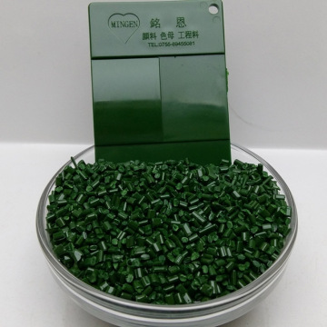 Army Greenish Plastic Masterbatch