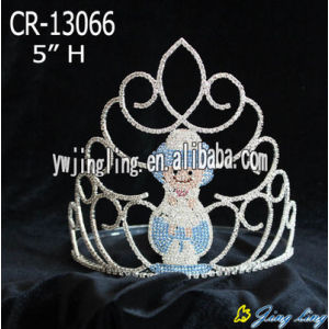 Christmas Snowman Pageant Crowns