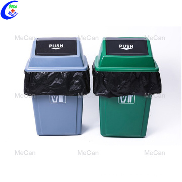 Heavy duty biodegradable black rubbish plastic garbage bag