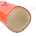 Rubber hose protector radiator fire resistant sleeves