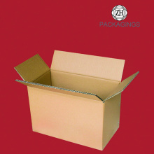 Custom made brown paper carton packaging box