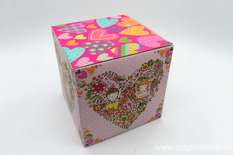 Colorful Decorative Packaging Gift Paper Wedding Box