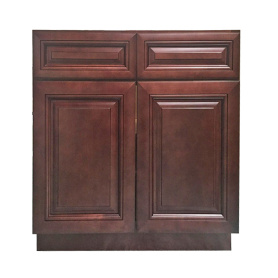 America Solid Wooden Kitchen Cabinet